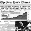 80s History - 10/19/87 US Stock Market Plunges on Black Monday