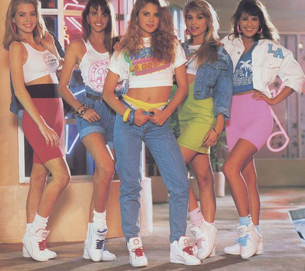 The 80s - Fashion of the 80s #4