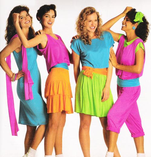 80s fashion women clothing neon  Google Search  Pinterest