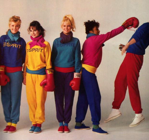 Units clothing store 1980s