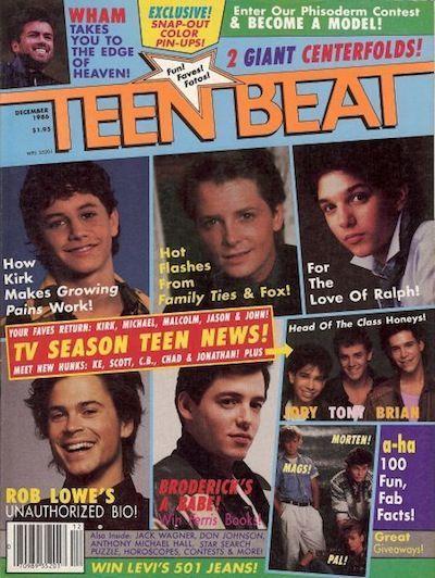 80s Teen Magazines