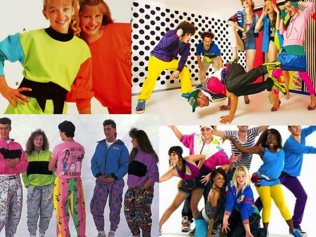 80s Neon Clothes