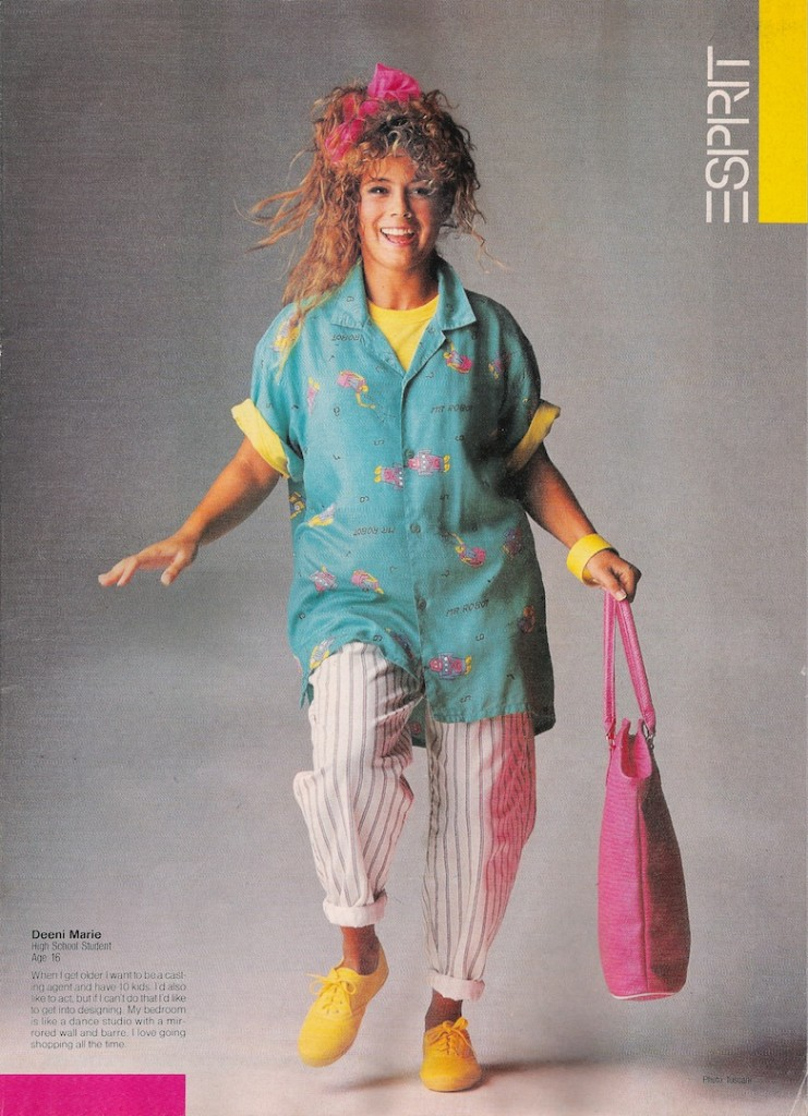 Esprit 80s Ad