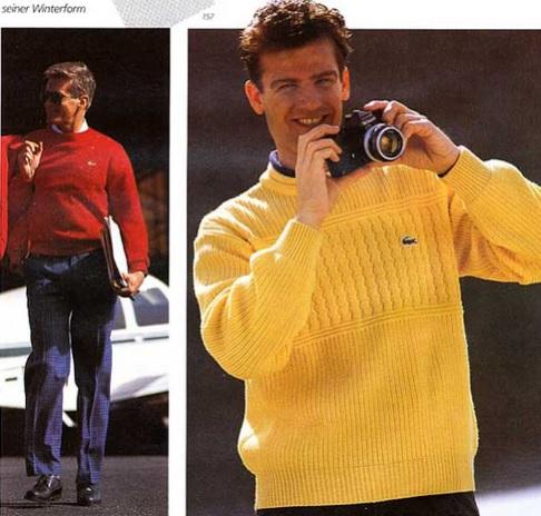Lacoste Catalog 1985