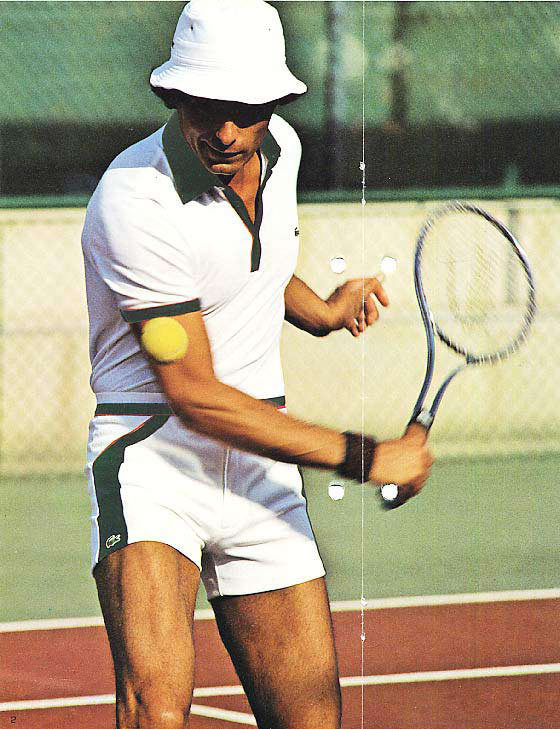 Tennis Player Lacoste