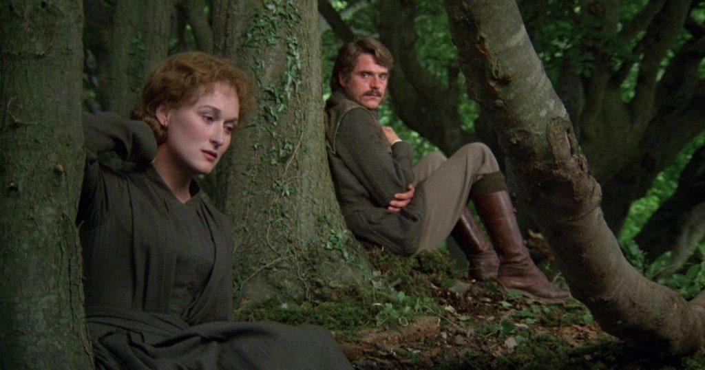 meryl streep the french lieutenant's woman